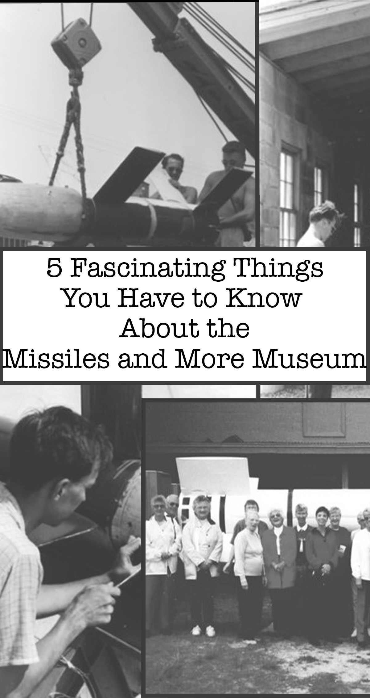 5 Fascinating Things You Have to Know About the Missiles and More Museum Pin
