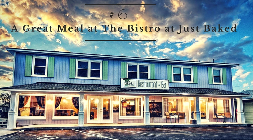 A Great Meal at The Bistro at Just Baked
