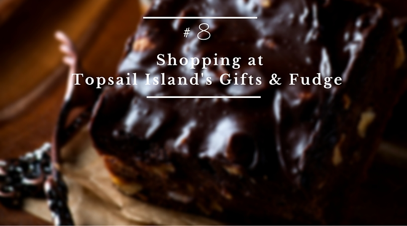 Shopping at Topsail Island's Gifts and Fudge