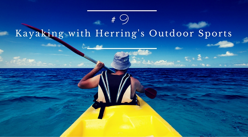 Kayaking With Herrin's Outdoor Sports in Topsail