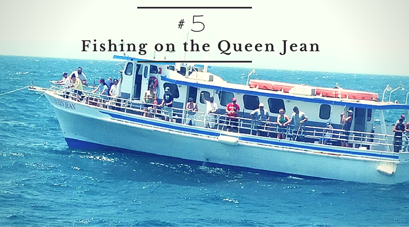Fishing on the Queen Jean