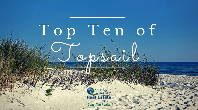 Top Ten of Topsail Island