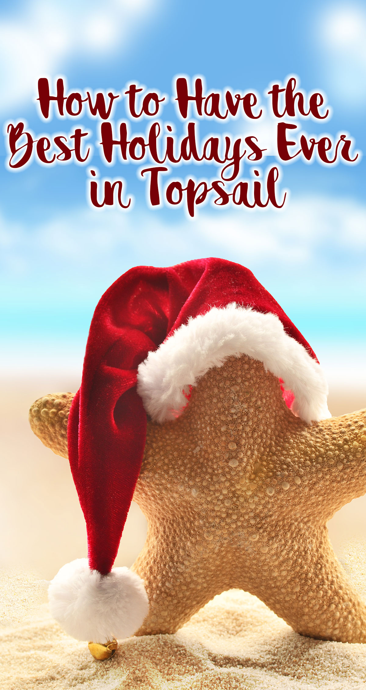 How to Have the Best Holidays Ever in Topsail Pin