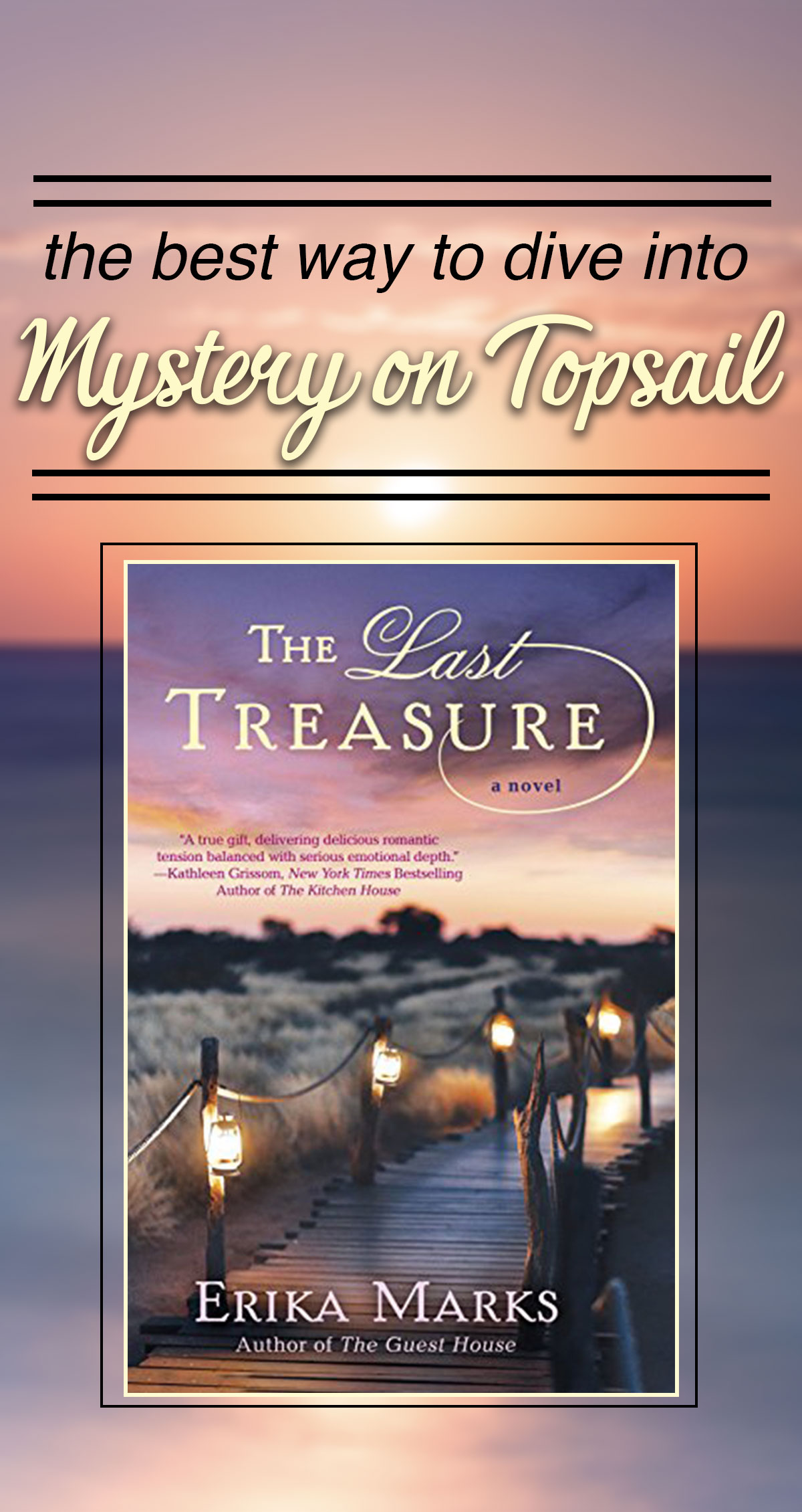 The Best Way to Dive Into Mystery on Topsail Pin
