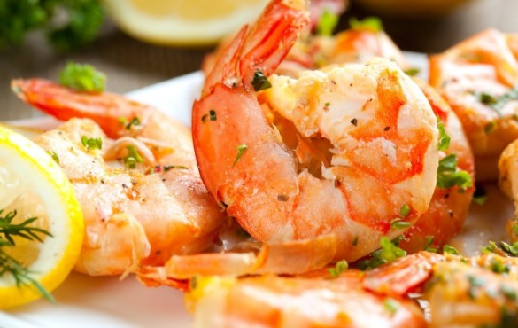 shrimp dinner | Coastline Realty