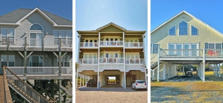 topsail beach, nc vacation rentals | Coastline Realty Vacations