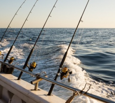 fishing on topsail beach | Coastline Realty Vacations