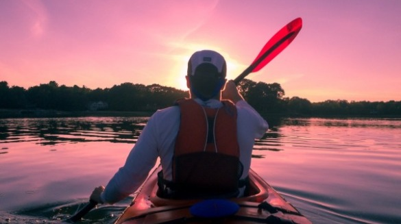 kayaking on topsail island | Coastline Realty Vacations