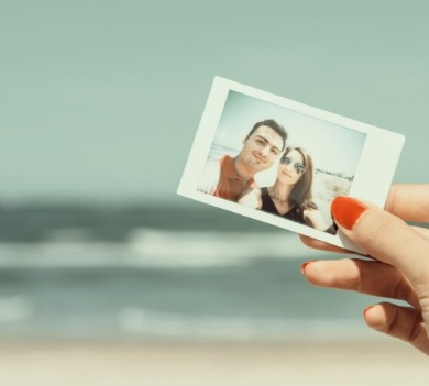 photo of a couple at the  beach | Coastline Realty Vacations