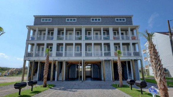 Beach Breeze Oceanfront Rental on Topsail Island | Coastline Realty Vacations
