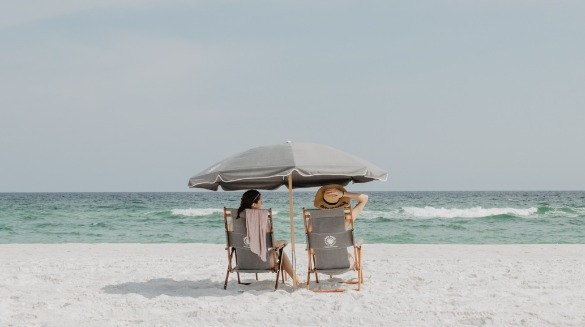 relaxing at topsail beach, nc | Coastline Realty Vacations
