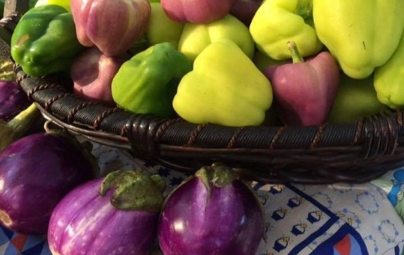 fresh yellow and green peppers | Coastline Realty Vacations