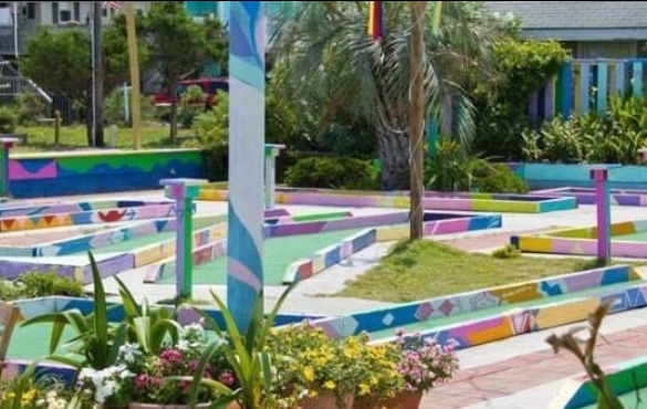 putt-putt golf on topsail island nc | Coastline Realty Vacations