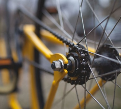 spokes of a bike | Coastline Realty Vacations