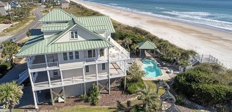 A Castle in the Sand vacation rental | Coastline Realty