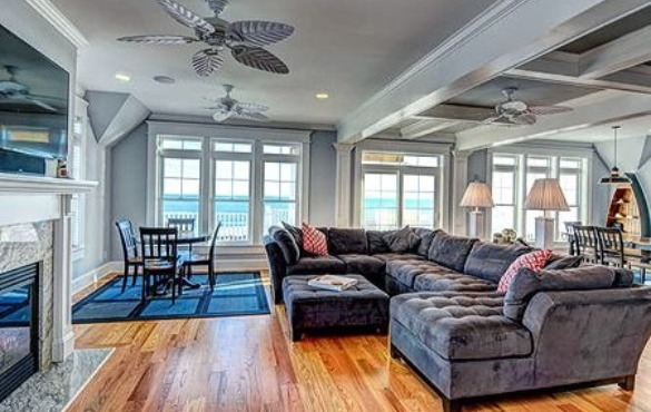 Our beautiful oceanfront vacation rental Island Drive 4160 | Coastline Realty