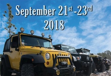 Topsail Island Jeep Week flyer | Coastline Realty Vacations