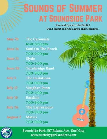 sounds of summer flyer | Coastline Realty Vacations