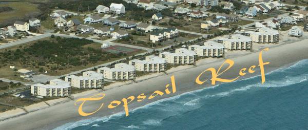 Topsail Reef Topsail Island Nc