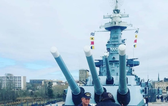 uss north carolina battleship | Coastline Realty Vacations